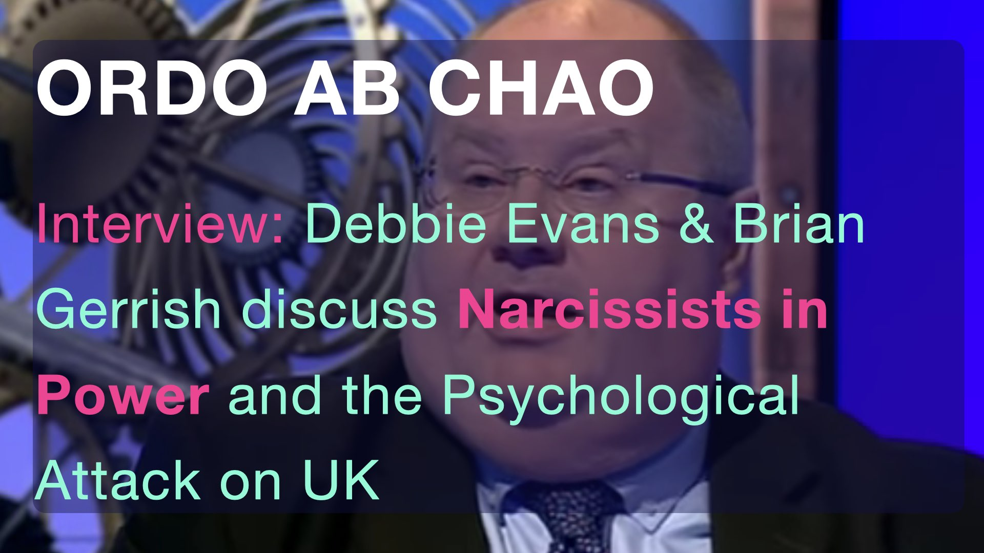 Narcissists and the Psychological Attack on UK
