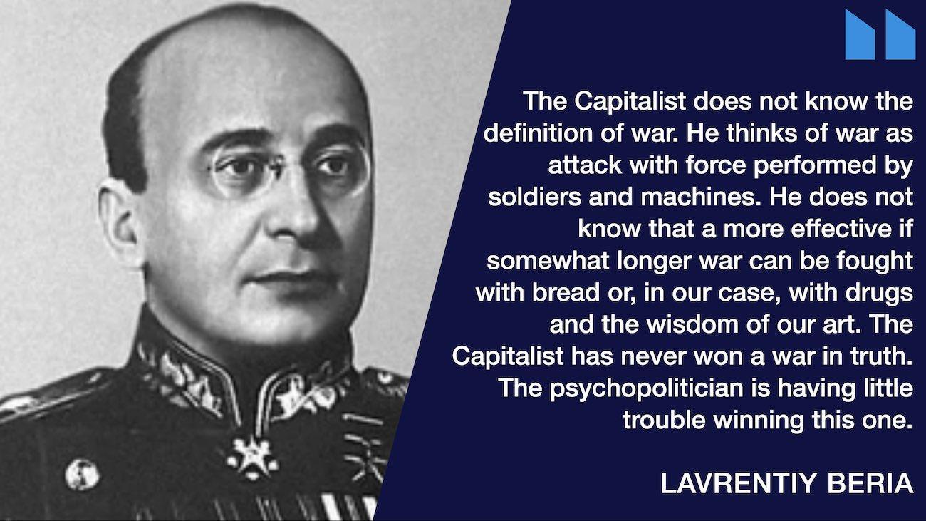 Beria quote