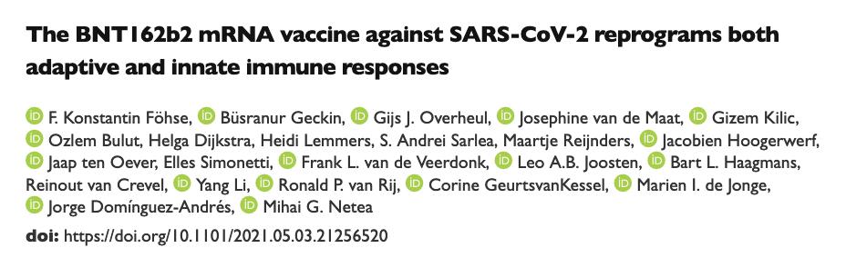 Reprogramming immune response